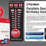 仮想化ソフトParallelsが安く購入できるらしい