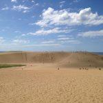 真夏の鳥取砂丘