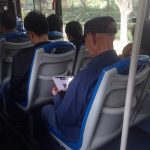 バスの中で見かけたハイパーじーちゃん