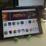 GekkopodをiPhone,iPadのスタンドとして使う