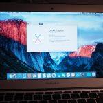 MacBook Air Late 2010でEl Capitanが動くだけでも凄い